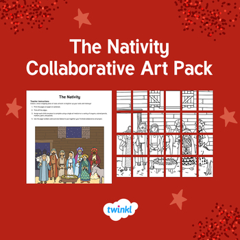 The Nativity Collaborative Art Pack