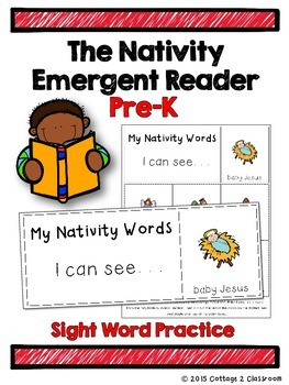 The Nativity Emergent Reader for PreKinders