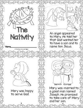 The Nativity - A Mini Book