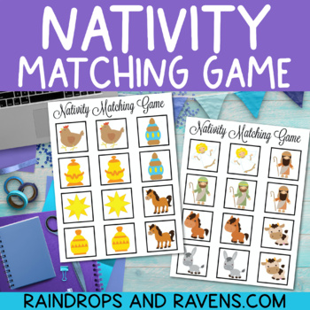 The Nativity Matching Game