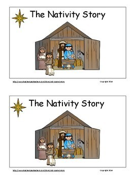Christmas Activities Freebie, The Nativity Story Emergent Reader,Christmas Story