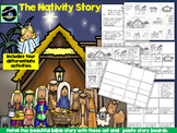 The Nativity Story Cut And Paste Activity