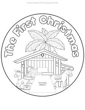 The Christmas Nativity Story Wheels