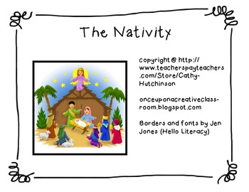 The Nativity Unit - Perfect Unit for telling the Christmas Story