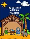 The Nativity Writing Practice - Sentence Writing Practice