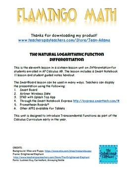 Calculus: Natural Log Differentiation