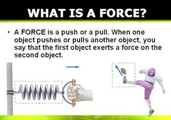 The Nature of Forces