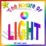 Light Task Cards Distance Learning