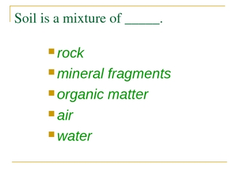 The Nature of Soil