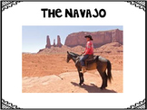 The Navajo PowerPoint with Graphic Organizer, Quiz, and Comprehension Questions
