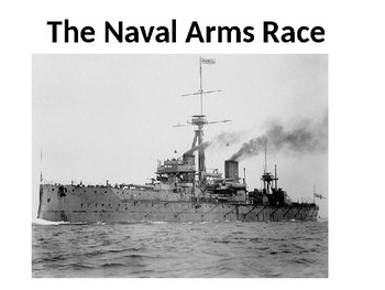 The Naval Arms Race Source Analysis Activity