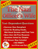 FREE: The Nazi Officer's Wife: Reading Check Questions -- Common Core Compliant!
