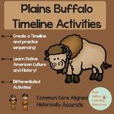 The Near Extinction of the Plains Buffalo Reading + Timeli