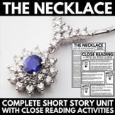 The Necklace by Guy De Maupassant - Short Story Unit Resources and Activites