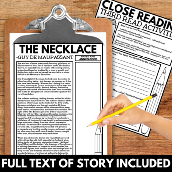short story review of the necklace
