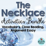 The Necklace Activity Bundle (Guy de Maupassant Short Story)