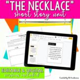 """The Necklace"" Short Story Unit"
