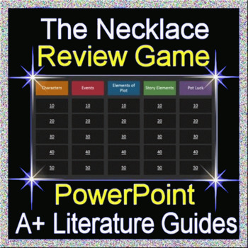 The Necklace Review Game
