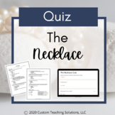 The Necklace Quiz