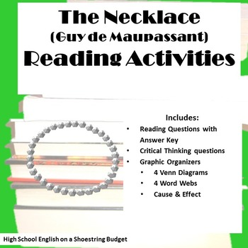 The Necklace Reading Activities (Guy de Maupassant)