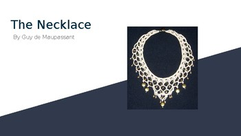 The Necklace - Short Story Activity PPT