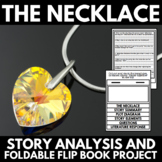 The Necklace by Guy De Maupassant: Short Story Foldable Flip Book Project