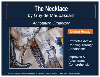 """Necklace"" by Guy de Maupassant: Annotation Organizer"