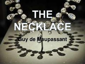 """""""The Necklace"""" by Guy de Maussant: Narrative Lesson Plan"""