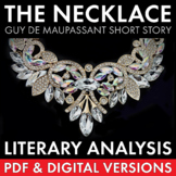 The Necklace, Guy de Maupassant Short Story Literary Analysis, PDF & Google Apps
