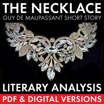 The Necklace, two-day plan, dynamic approach to de Maupass