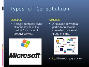 The Need for Competition in Business