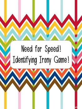 The Need for Speed! Identifying Irony Game