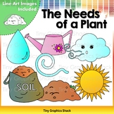 The Needs of a Plant Clip Art