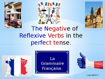 The Negative with Reflexive Verbs in the Perfect Tense - A Complete Guide.