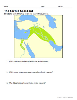 The Neolithic/Agricultural Revolution Reading Worksheets and Answer Keys