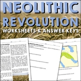 The Neolithic Agricultural Revolution Reading Worksheets and Answer Keys
