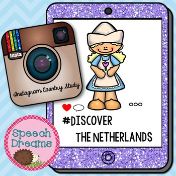Netherlands Holland Country Study {Social Studies Literacy Booklet} Instagram