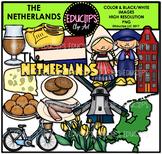 The Netherlands Clip Art Bundle {Educlips Clipart}
