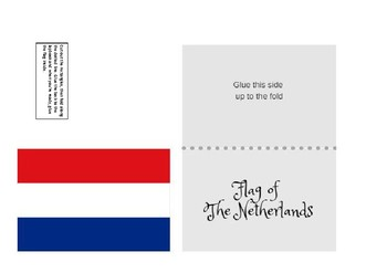 The Netherlands Country Study Unit Lapbook
