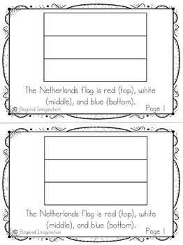 Netherlands Country Study | 48 Pages for Differentiated Learning + Bonus Pages