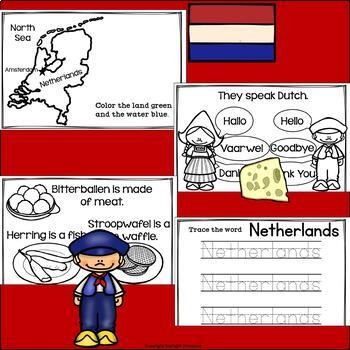 The Netherlands Mini Book for Early Readers - A Country Study