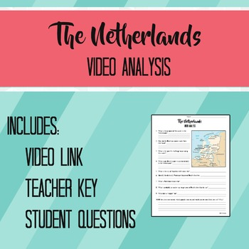 The Netherlands Video Analysis