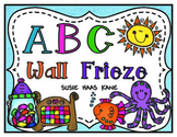 Kindergarten ABC Wall Frieze
