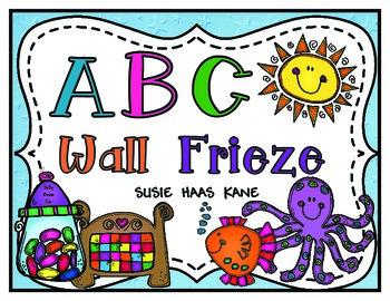 Kindergarten ABC Wall Frieze