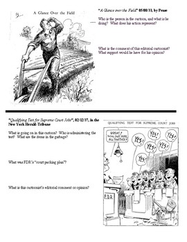 The New Deal - A Cartoonist's Perspective