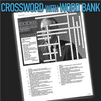 The News Review >> The New Deal Crossword Puzzle Review