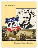 The New Deal: Document Based Question(s)