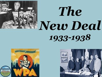 The New Deal Power Point 1933-1938