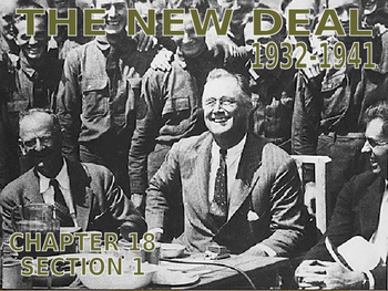 22 - The New Deal - PowerPoint Notes