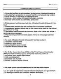 The New Deal Regents Questions